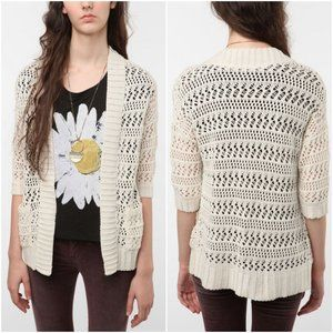 Staring at Stars UO | Tape Open Cardigan
